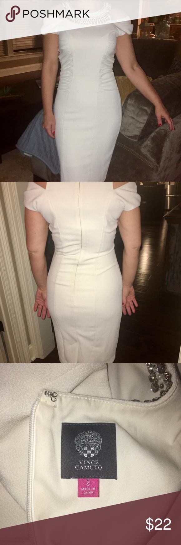 Vince Camuto Winter White Gorgeous Dress Gorgeous Dresses Dresses Clothes Design [ 1740 x 580 Pixel ]