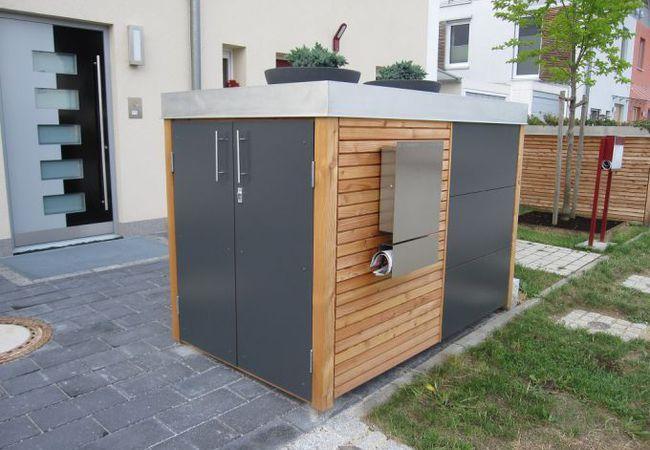 Photo of Nebengebäude | Gartenhäuser und Müllhäuser | stahlelemente.com