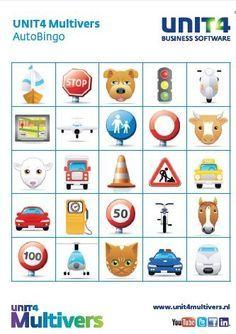 Bingo Voor In De Auto Auto Spiele Reisespiele Reisen Mit Kindern