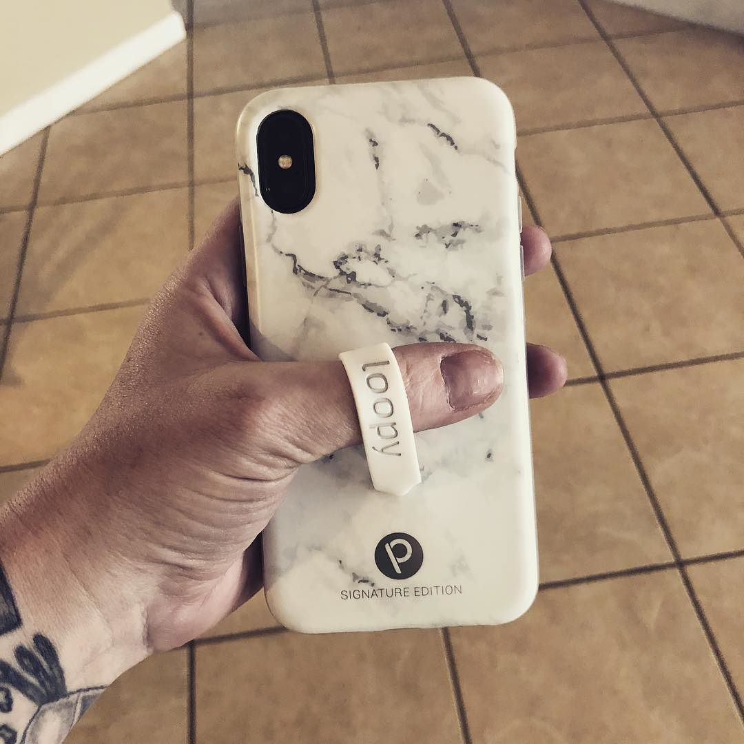 new concept 494e6 f2baf Got my new Loopy case for my iPhone X! No more worrying about ...