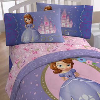 Disney Sofia First Princess In Training Bed A Bag With Sheet Set