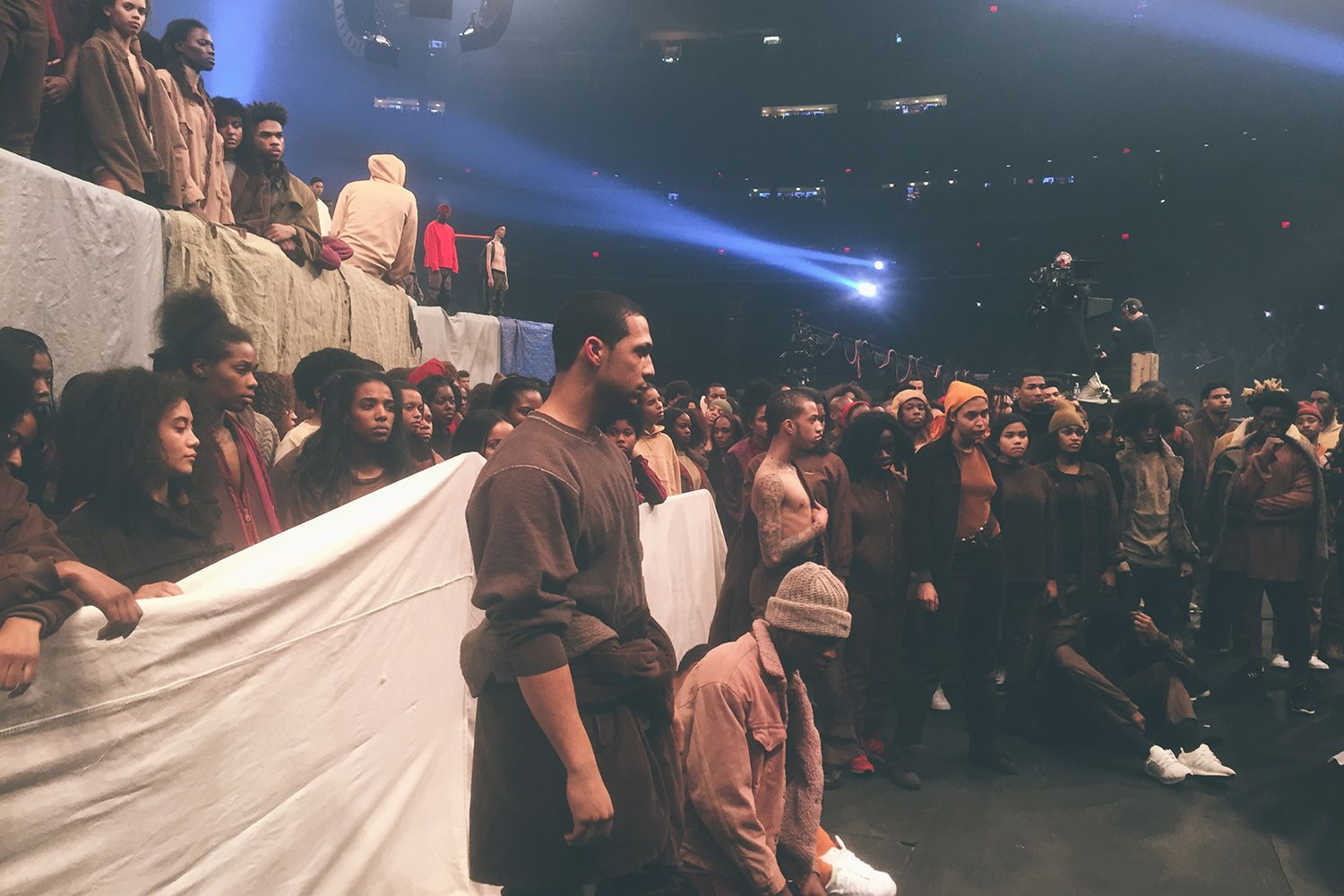 A Look At Kanye S The Life Of Pablo Debut Yeezy Season 3 Show Yeezy Season 3 Yeezy Season Seasons