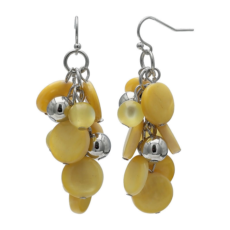 647ac2f81e4732 Mixit Shell Cluster Drop Earrings in 2019 | Products | Earrings ...