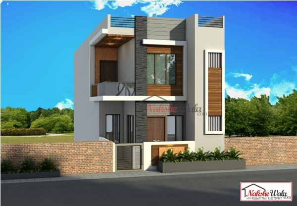 Double storey elevation two house  front view also rh pinterest