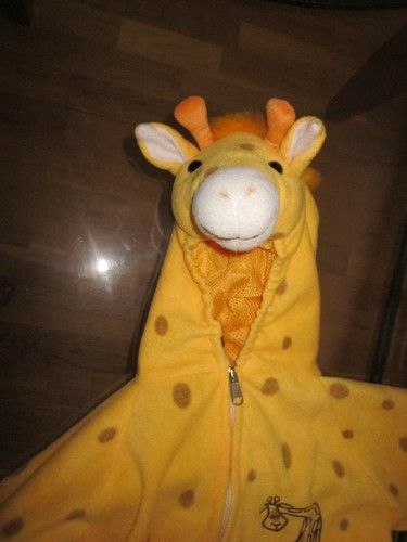 Giraffe Halloween Costume  So cute!  2T