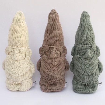 Severina Kids Doudou nain de jardin en coton tricotés main