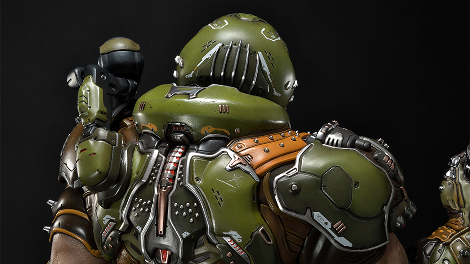 Feast Your Eyes On This Incredible Doom Slayer Statue Bethesda Net The Incredibles Slayer Doom