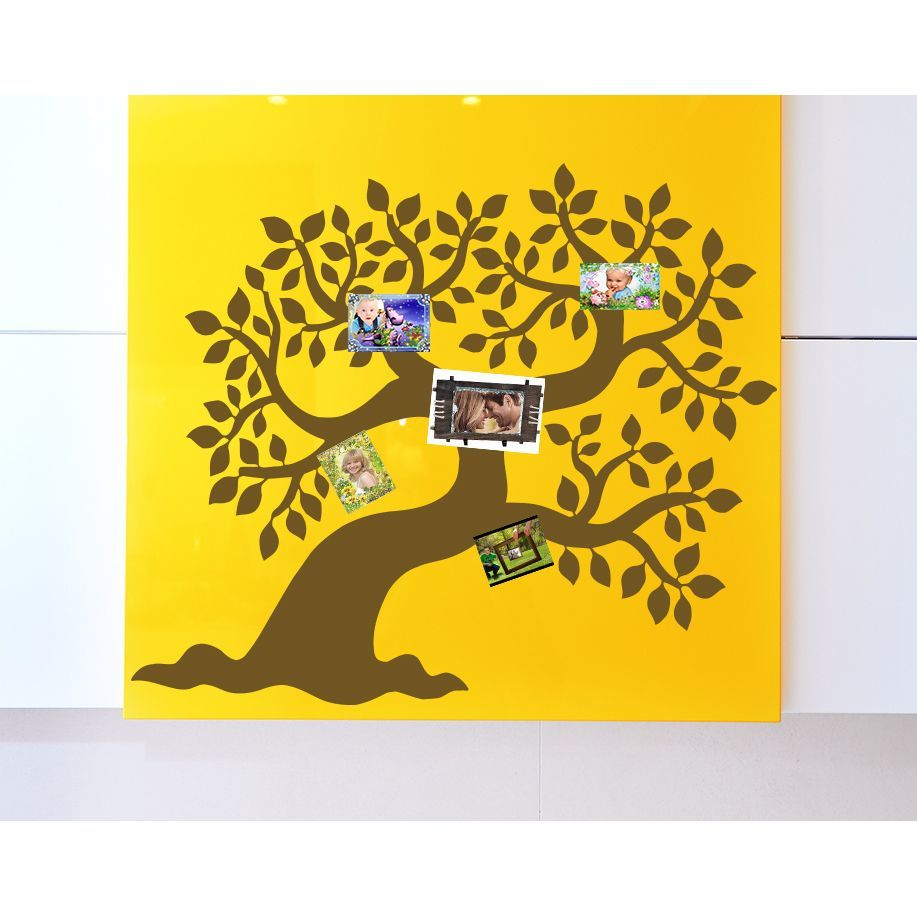 Deciduous Family Tree Wall Art Sticker Decal | Products | Pinterest ...