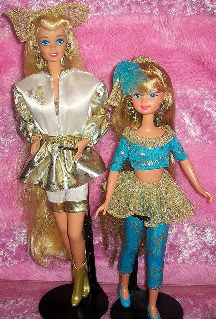 1992 Hollywood Hair Barbie Skipper Barbie Skipper Beautiful Barbie Dolls Barbie Friends
