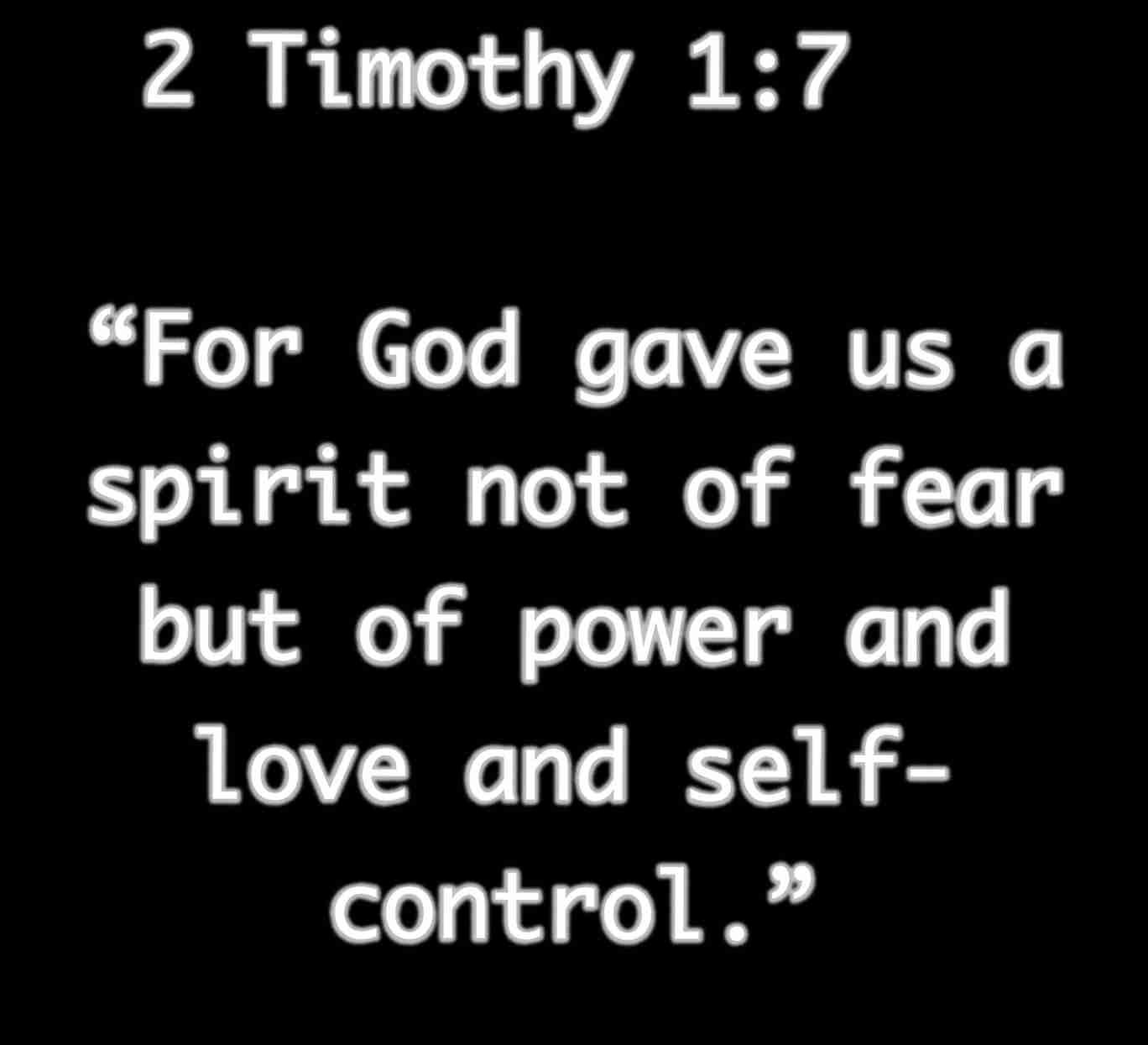 Inspirational Bible Quotes About Strength  Timothy  For God Gave