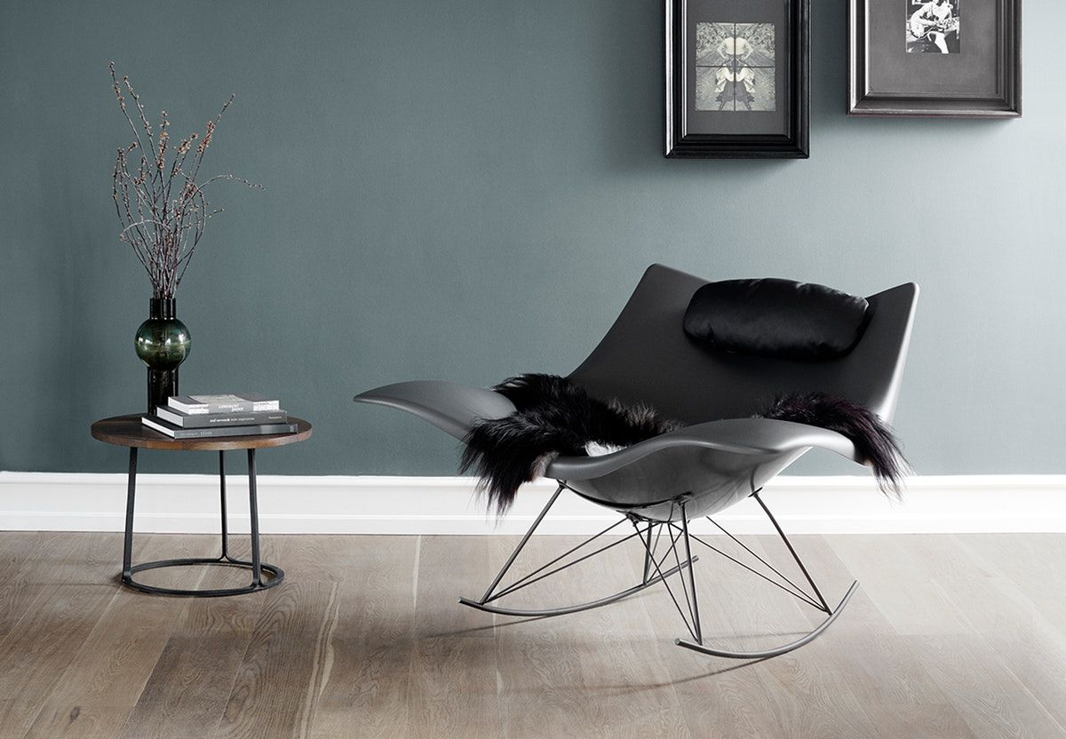 new danish furniture. Stingray Rocking Chair And Lounge By Danish Fredericia Furniture In Two New Mat Colors,