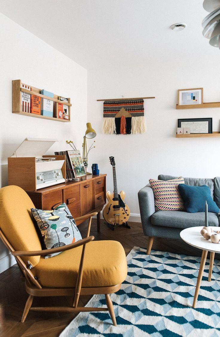 Arredamento Casa Moderno un mix di stile moderno, bohemien e industriale di metà