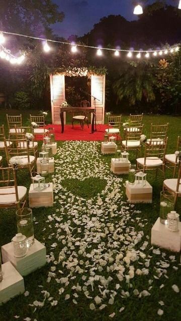 Ideas prácticas para decoracion matrimonio civil en casa