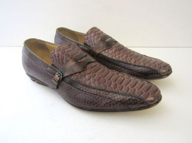 Japan crush fetish loafers