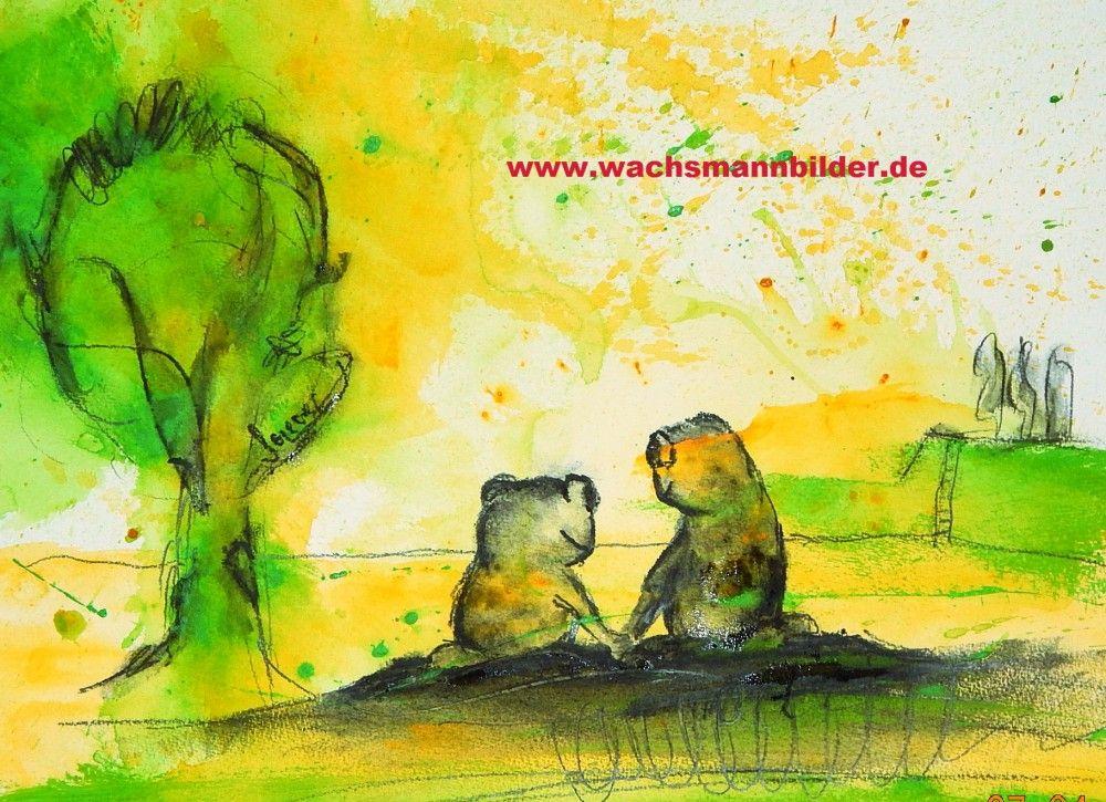 Bild Malen Lassen : frosch bild malen lassen 30 x 40 cm acryrelle pinterest ~ Orissabook.com Haus und Dekorationen
