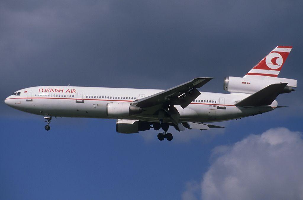 Turkish DC-10 in FRA