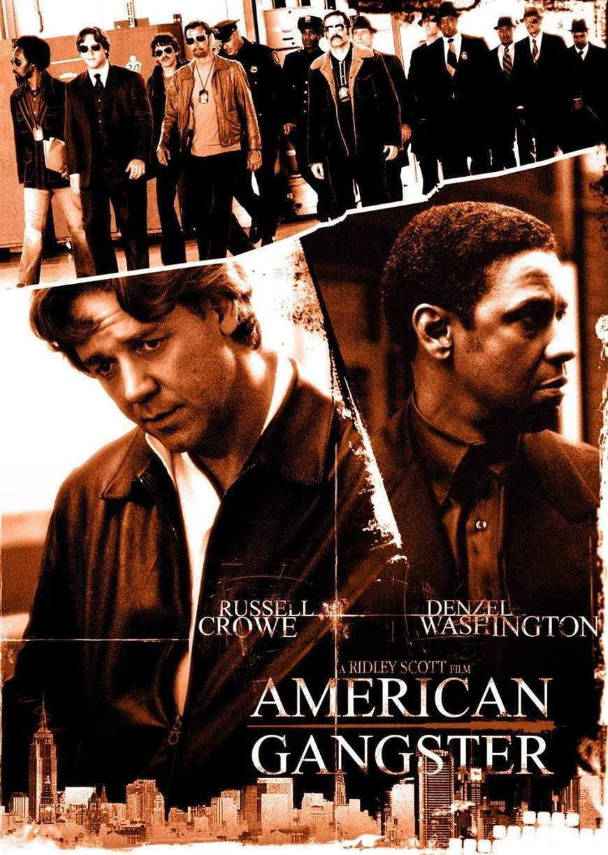 American Gangster 2007 De Ridley Scott Gangster Movies Gangster Movie Posters