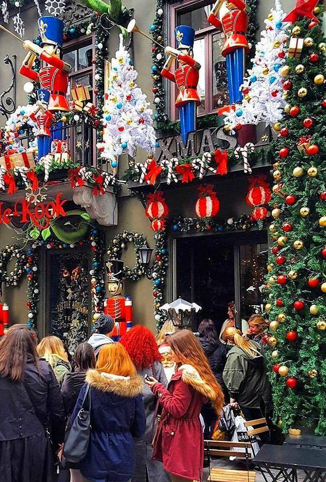 Psiri square at Christmas Athens Greece  Christmas  Pinterest