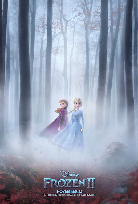 "Disney Animation Reveals New Poster For ""FROZEN 2"" and New"