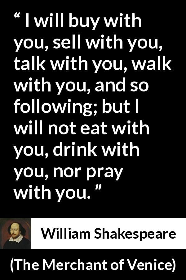 William Shakespeare Quote About Friendship From The Merchant Of Unique William Shakespeare Quotes About Friendship