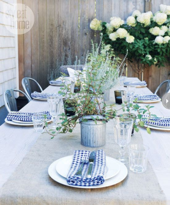 Marcus Design: {blogger backyard party ...}