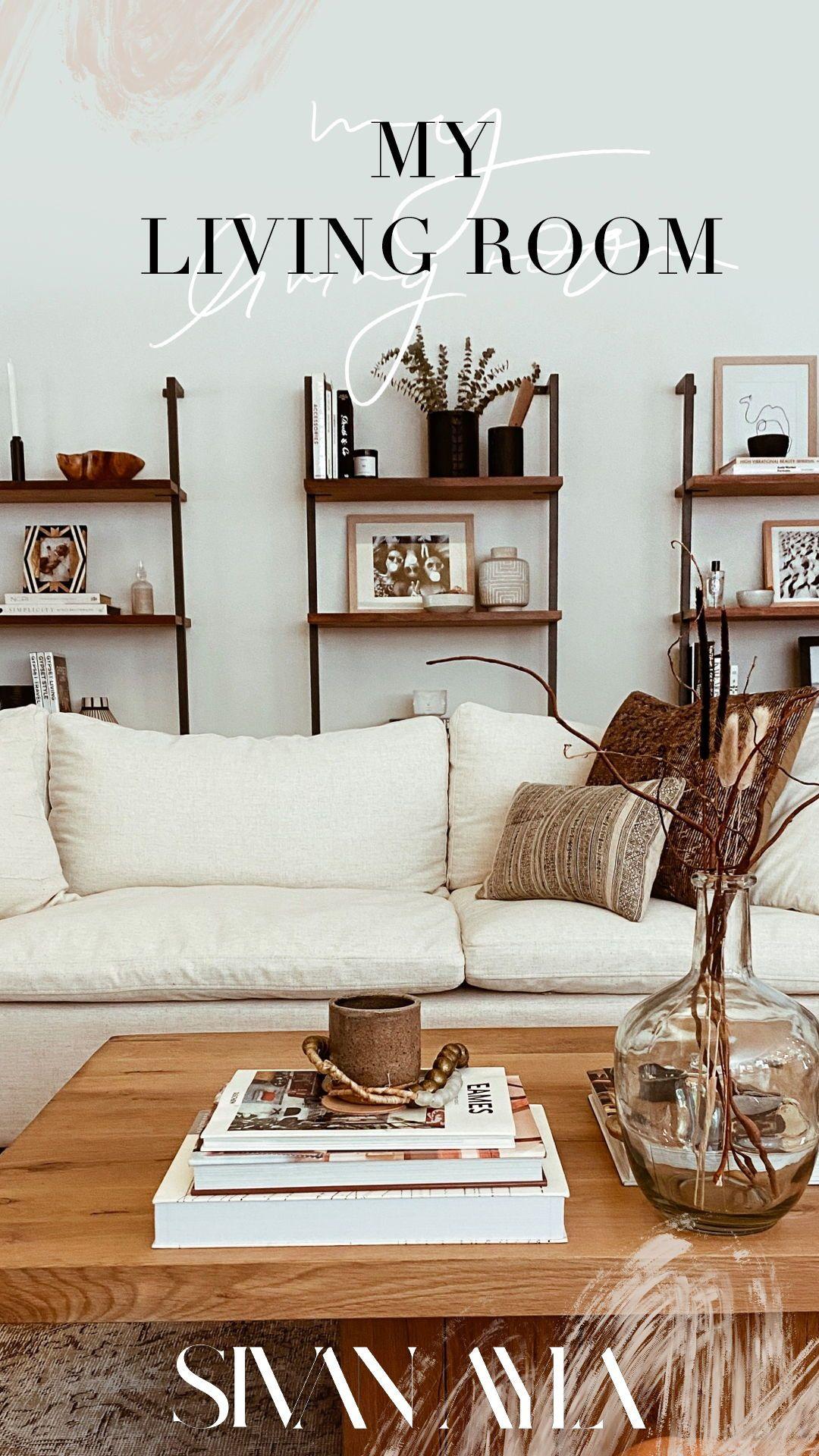 My Living Room | Sivan Ayla #modernboho #homedecor #livingroomdecor #interiors