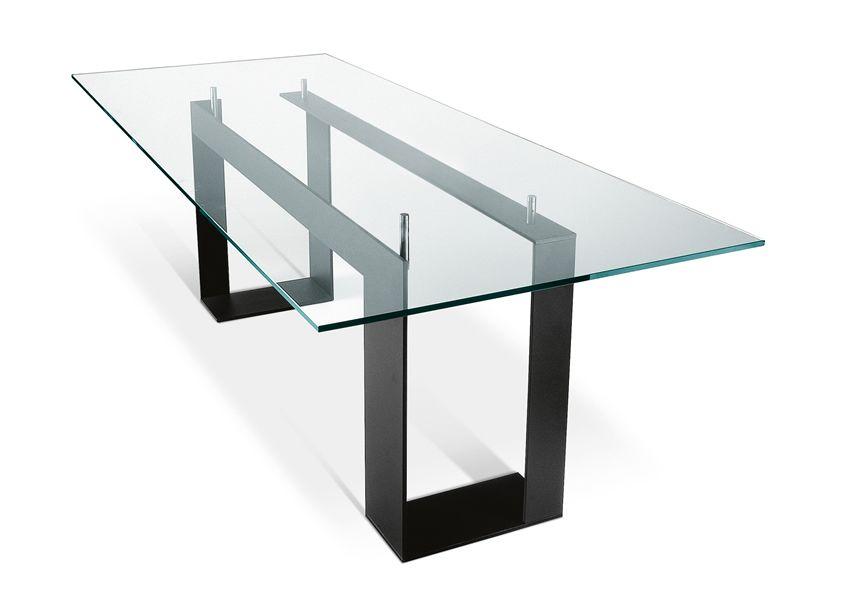 Tavolo vetro design tavoli quadrati allungabili moderni ...