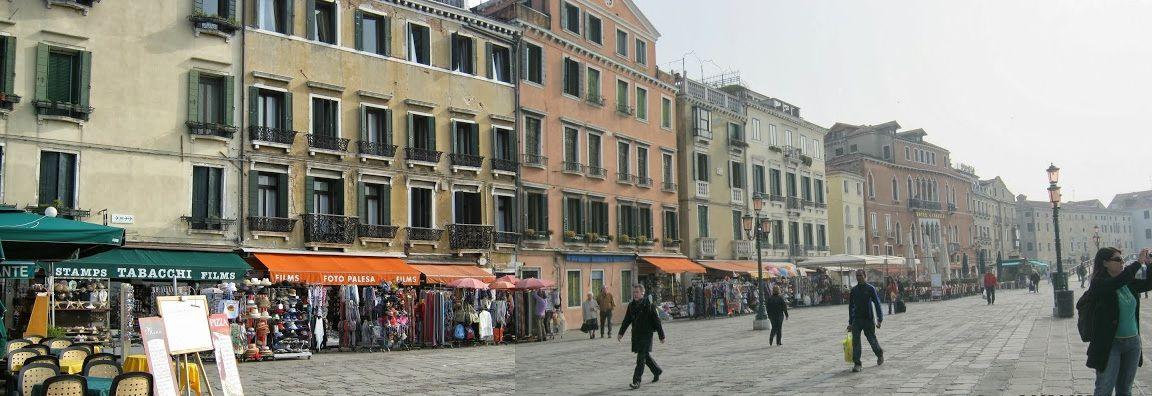 Vista da Riva Degli Schiavoni, Veneza.