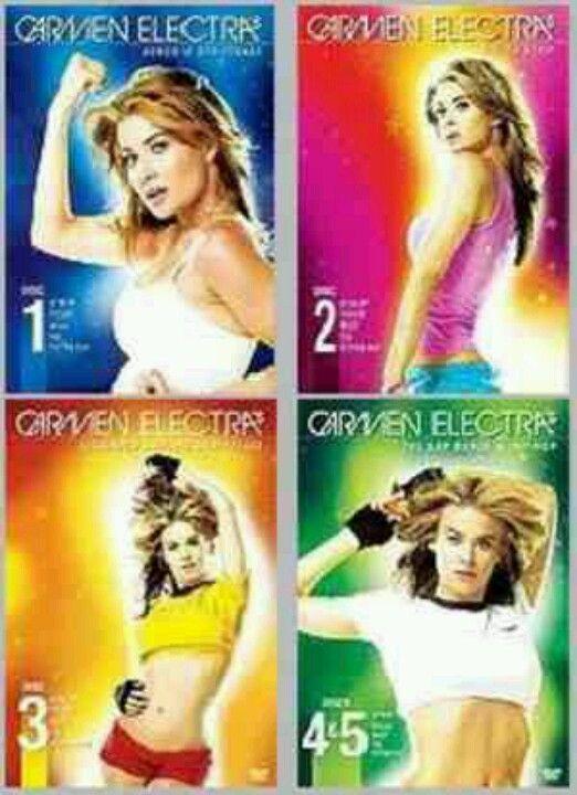 Carmen electra strip to fitness