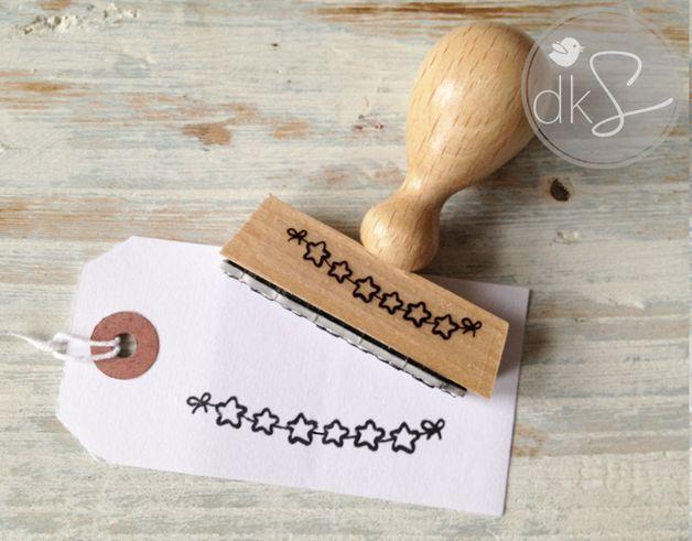 Stempel - Stempel - ein Designerstück von DerkleineSperling-Stempel bei DaWanda