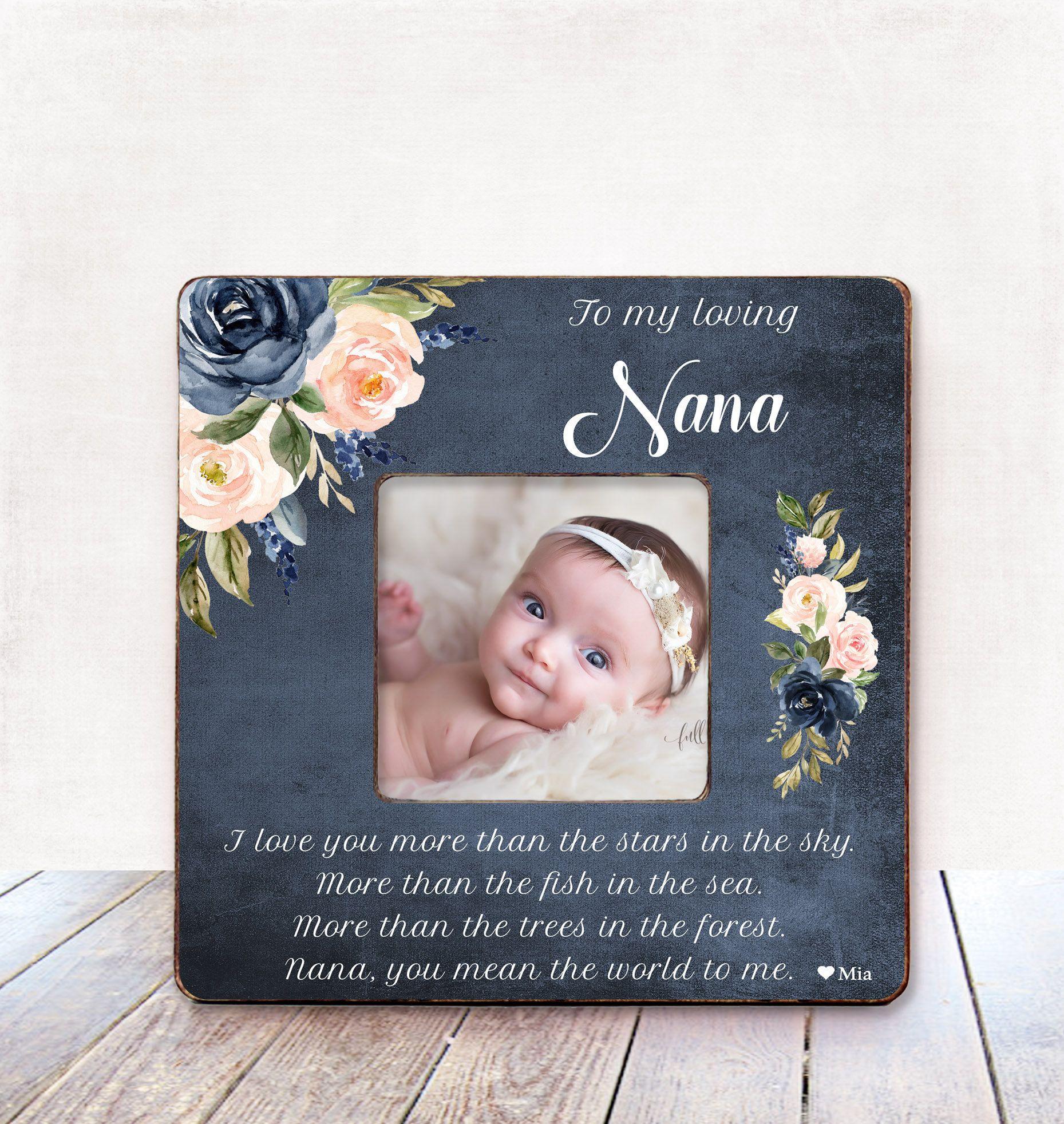 Christmas gift for grandma frame grandma mothers day gift