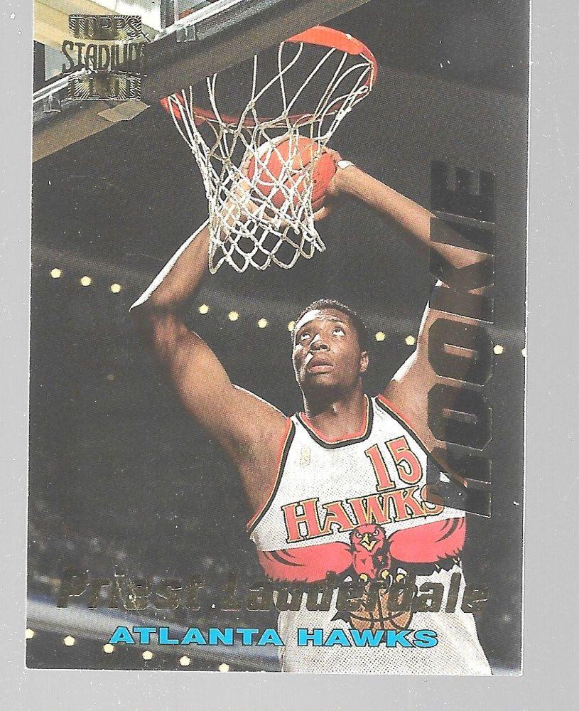 199697 Stadium Club Rookie Atlanta Hawks Priest