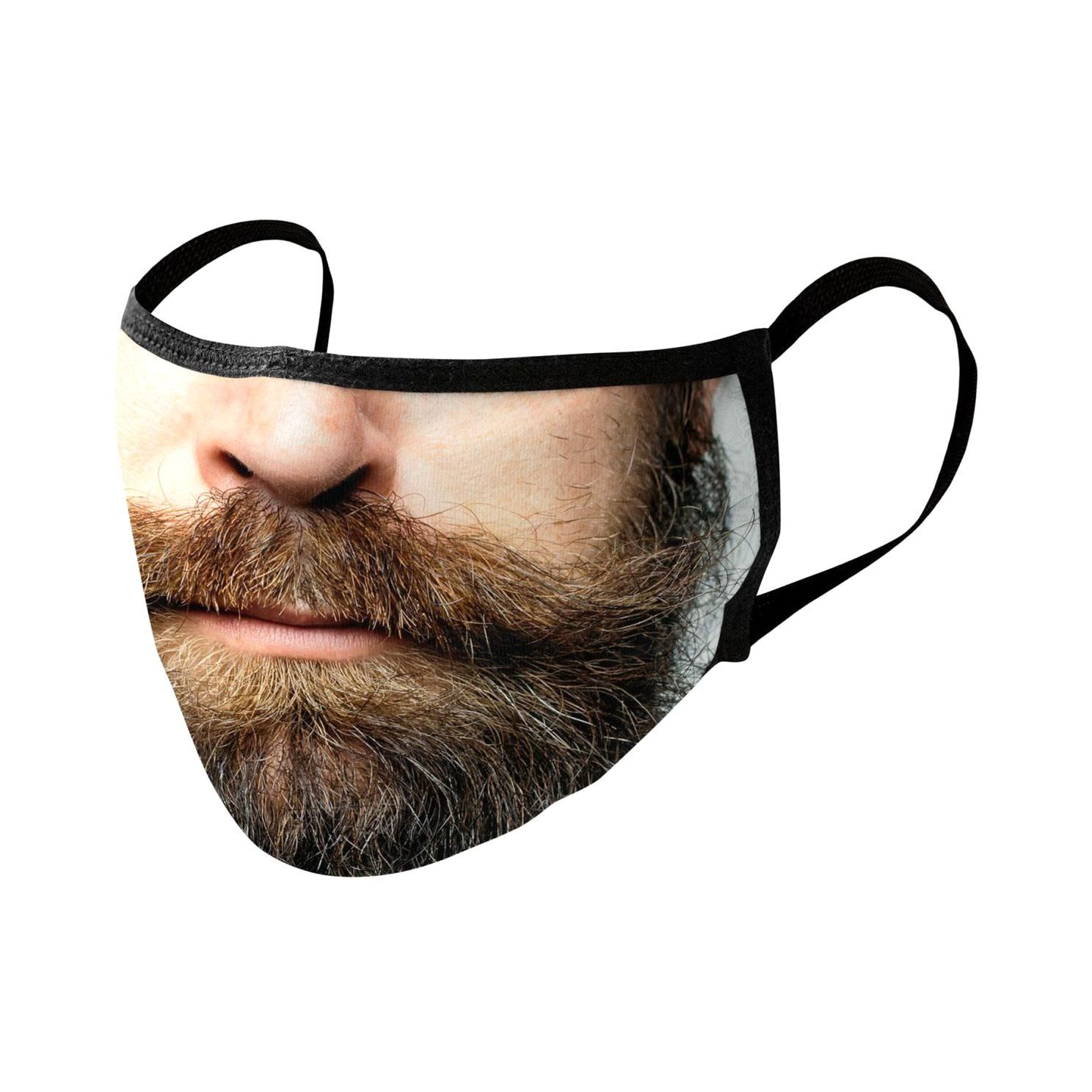 Hipster Beard face mask Accessories Face Mask by Opippi in