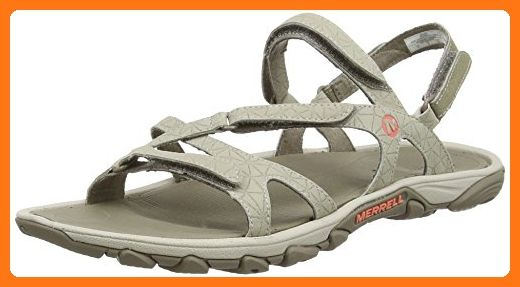 21392c91dc09 Merrell womens Merrell Ladies Enoki Convertible Hydro Walking Sandals Brown  Synthetic UK Size 5 (EU 38