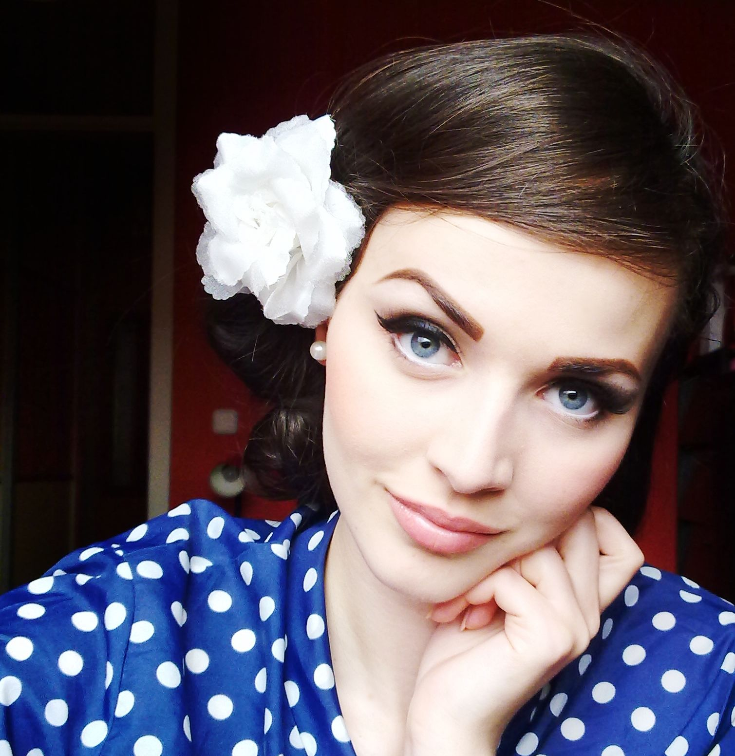 Soft Vintage Makeup: Pin On Be You Tfulll