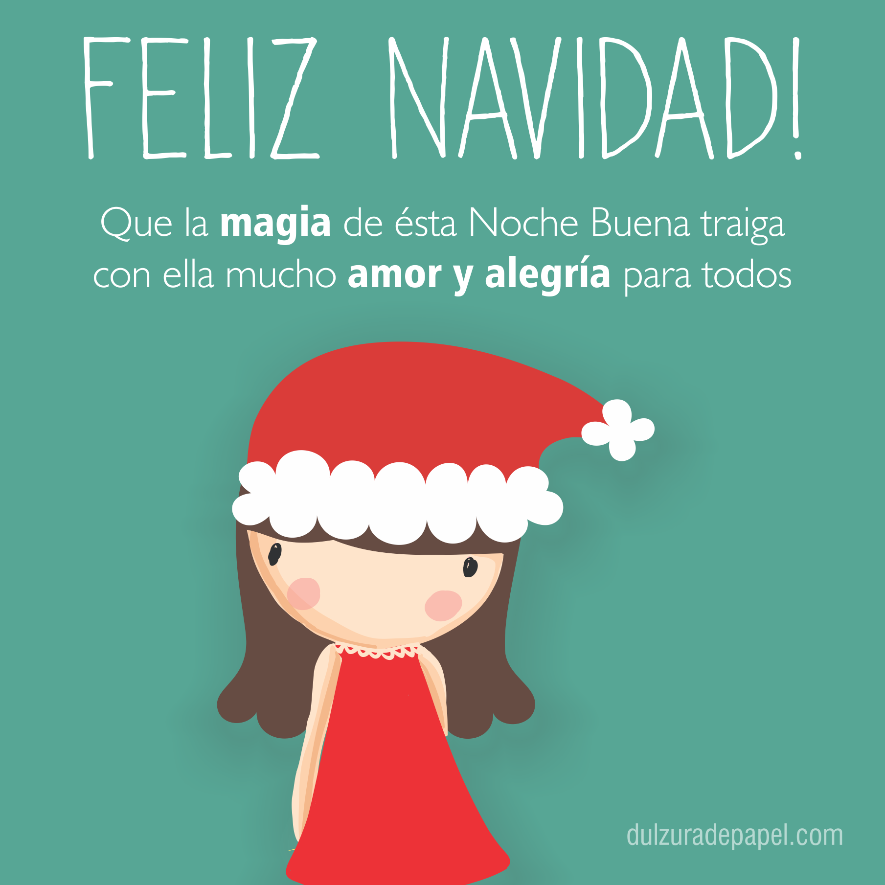 Feliz Navidad - Dulzura de papel #navidad | Flor De Loto 1 ...