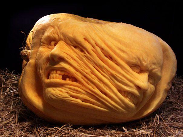 #Halloween #sculpturesdecitrouille