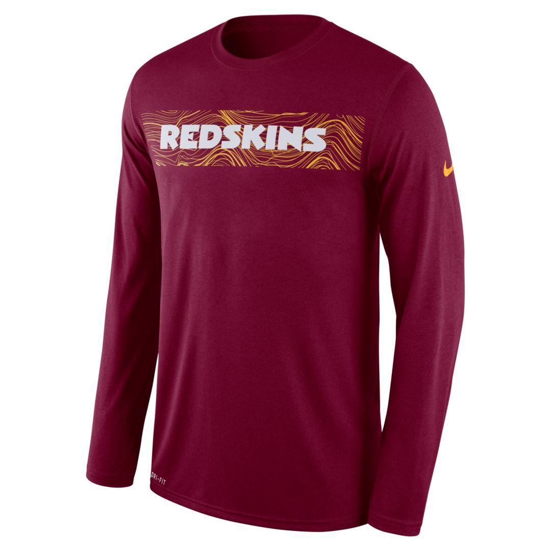 redskins compression shirt
