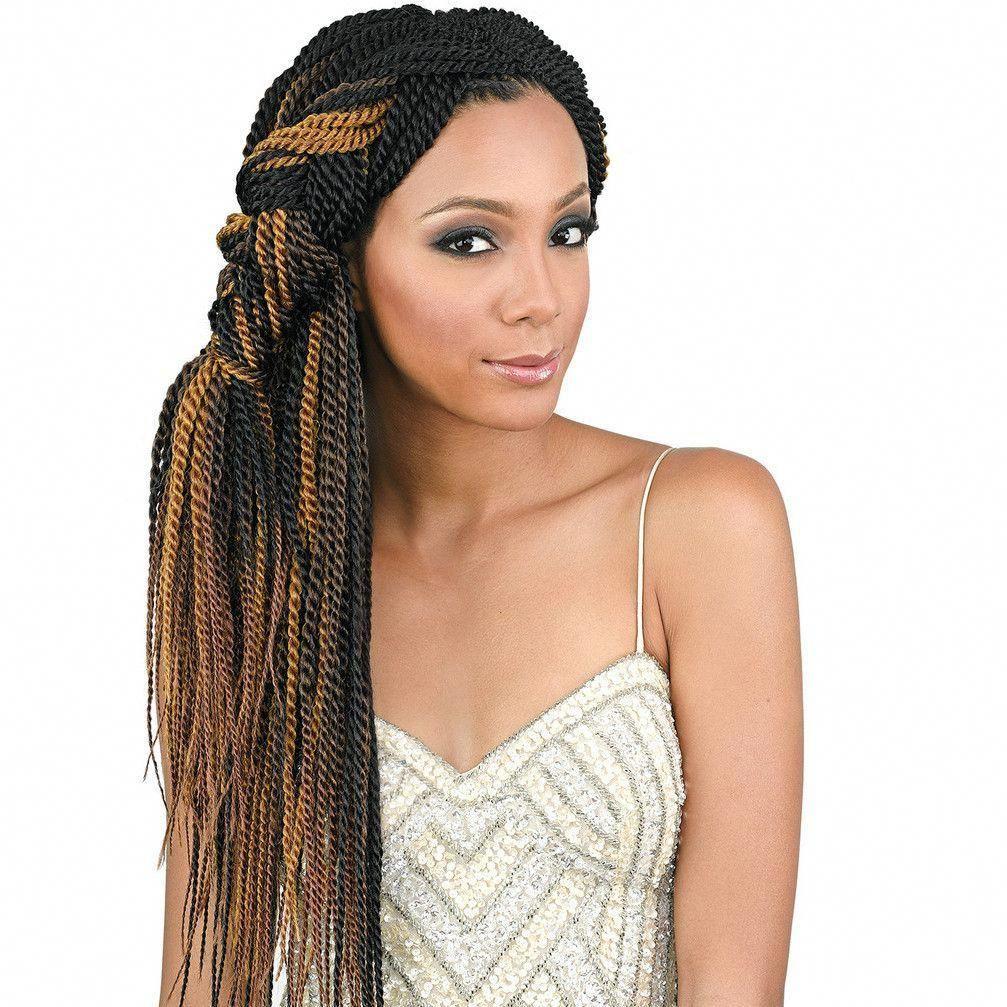 Bobbi Boss 100% Kanekalon Crochet Braids Senegal Twist #crochetbraids
