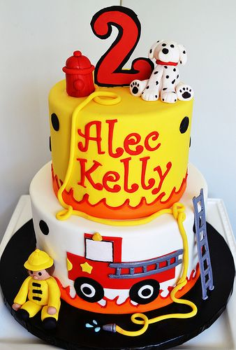 Miraculous Fireman Cake Firefighter Birthday Cakes Fireman Cake Fire Funny Birthday Cards Online Overcheapnameinfo
