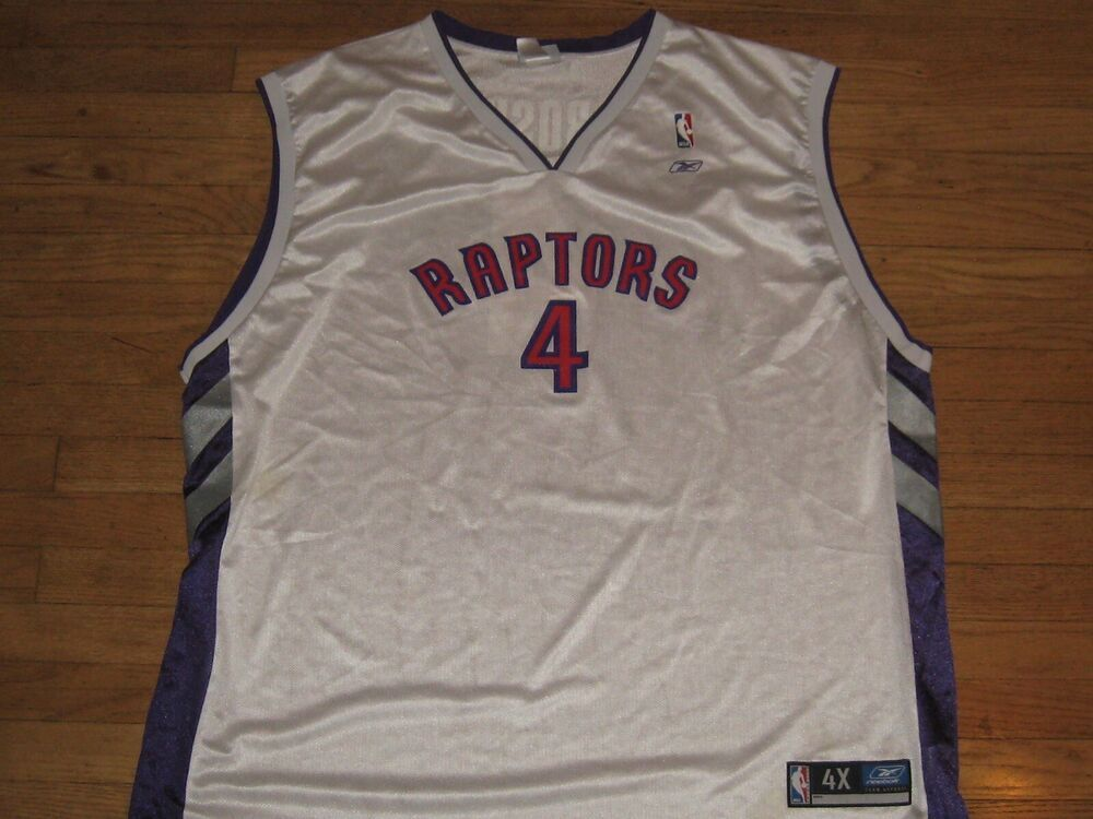 1f1acf6f828 Vintage Reebok Chris Bosh Toronto Raptors Basketball Jersey Authentic Size  4XL  Reebok  TorontoRaptors