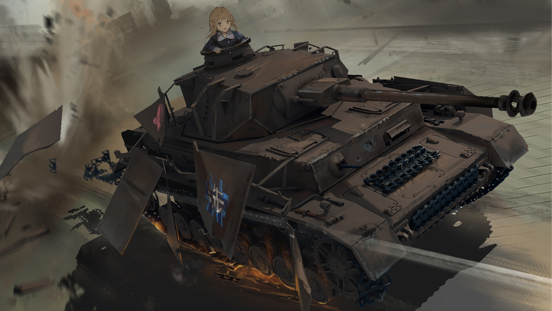 Drifting Girls Und Panzer 1920x1080 Need Iphone 6s Plus