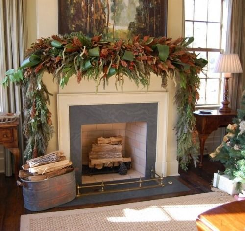 Christmas Decorations- Mantle Dressing Holiday Decoration - christmas decorations for mantels