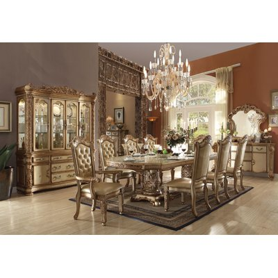 Astoria Grand Petrina Upholstered Dining Chair Wayfair In 2020 Dining Table Gold Dining Room Dining Room Sets