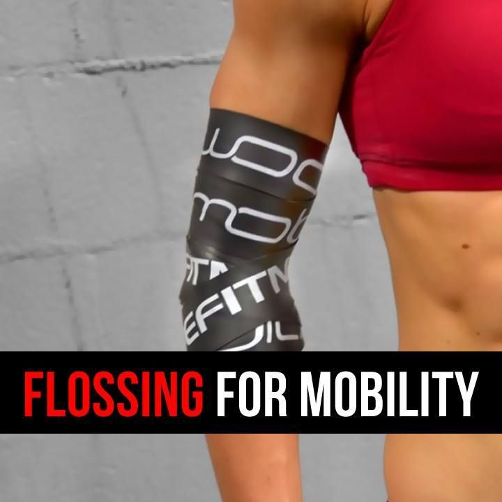 Floss Band Exercise Recovery Bands Flossing Sore Muscles Shoulder Knee Injury