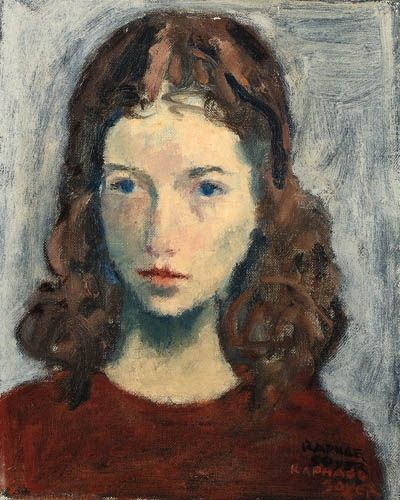 Naomi by Raphael Soyer (1899-1987), American (mutualart)