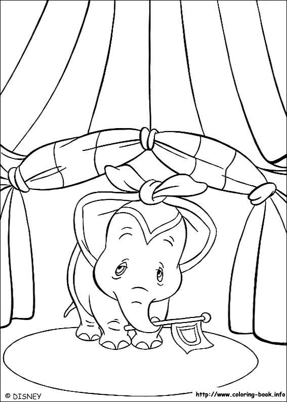 Dumbo coloring picture | Dumbo Coloring Pages | Pinterest | Colores ...