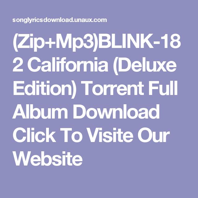 Blink 182 скачать торрент