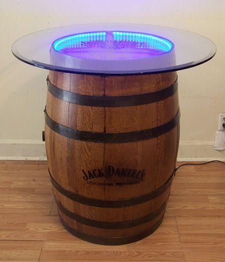 LED Waterproof Light Kit For Whiskey Barrel Tops-Tables