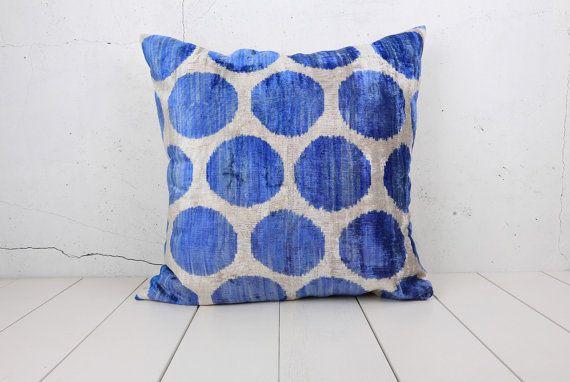 40 X 40 Decorative Pillow Accent Throw Pillow Velvet Ikat Pillow Awesome 30 X 30 Decorative Pillows